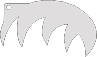 Schminksjabloon Tijger
