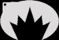 Schminksjabloon Kroon
