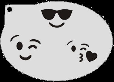 Schminksjabloon Emoji