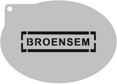 Schminksjabloon Broensem