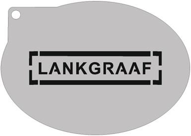 Schminksjabloon Lankgraaf