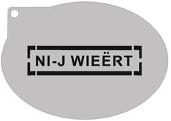 Schminksjabloon Ni-jwieërt