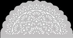 Mandala Schminksjabloon