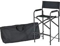Schmink stoel zwart incl. draagtas-3