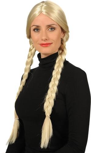 Pruik Gretchen Blond