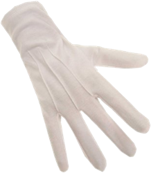 Sint Handschoenen Wit Kort XS