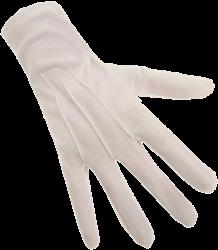 Sint Handschoenen Wit Kort M