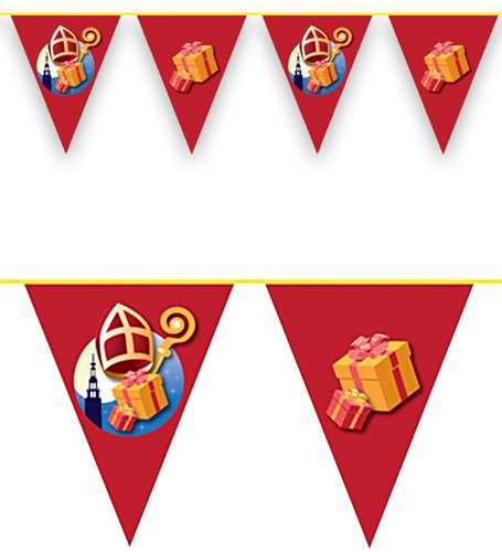 Vlaggenlijn Sinterklaas 6 meter