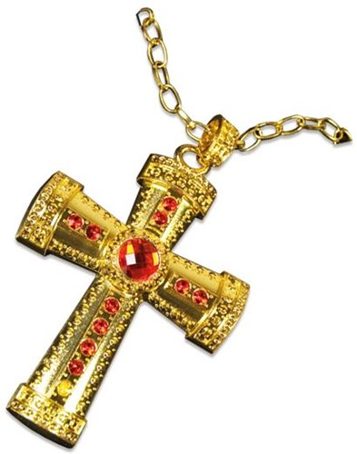 Sinterklaaskruis aan ketting