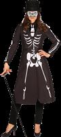 Skelet Dames Jas Maat M-2
