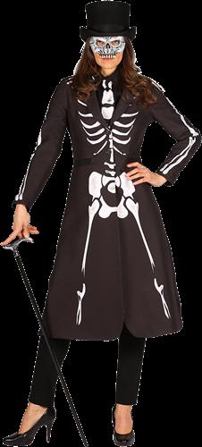 Skelet Dames Jas Maat XS