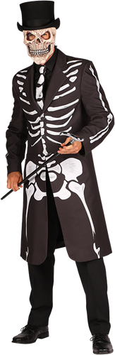 Skelet Heren jas Maat L
