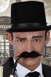 Snor Zwart Detective