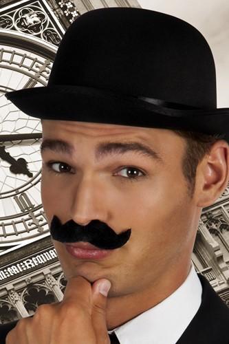 Snor Zwart Gentleman