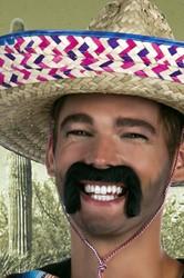 Snor Zwart Mexicaan