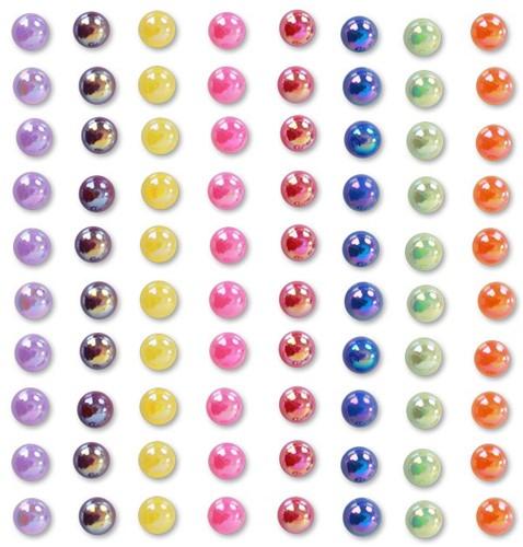 Plaksteentjes regenboog