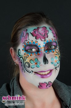 Fotoalbum - Workshop sugarskull schminken-475