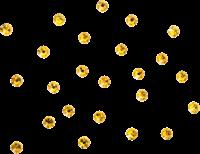 Swarovski mini steentjes geel goud-2