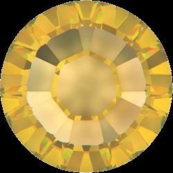 Swarovski mini steentjes geel goud