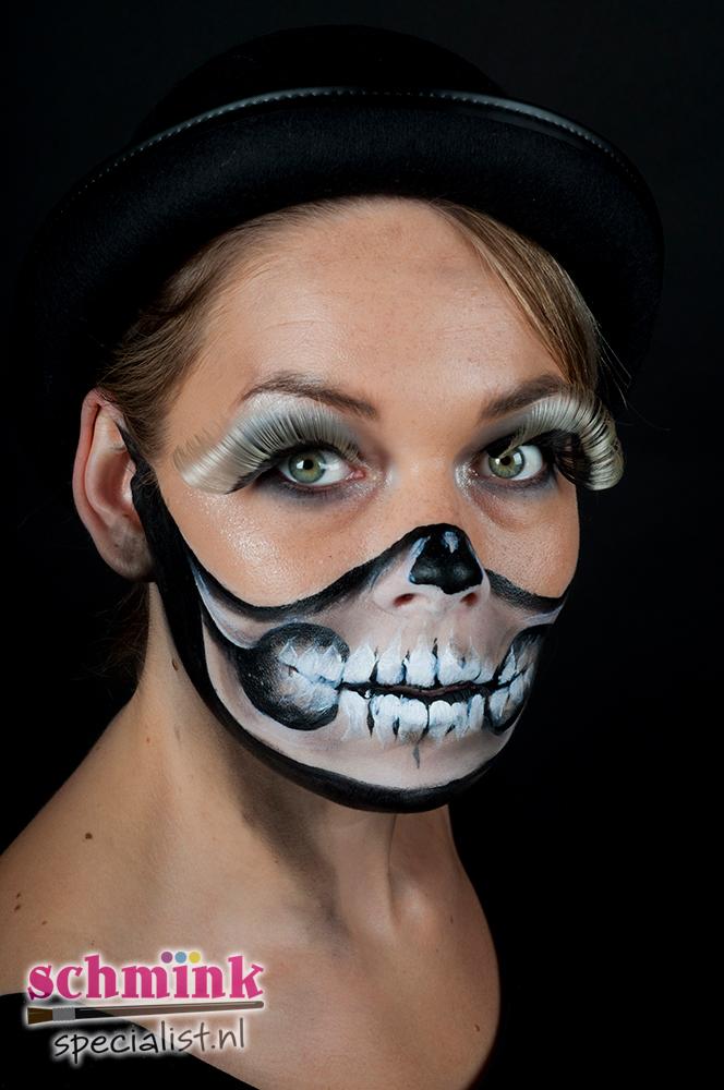 fotoalbum - halloween schminkvoorbeelden