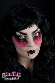 Fotoalbum - halloween schminkvoorbeelden-74