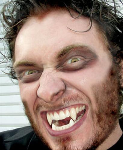 Weerwolf Deluxe Vampier tanden-3