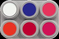 Grimas Water Make-up Fluor Palet 6
