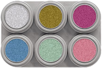 Grimas Water Make-up P6 Pearl Pure Palet-2