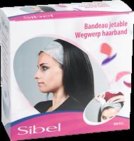 wegwerp haarband