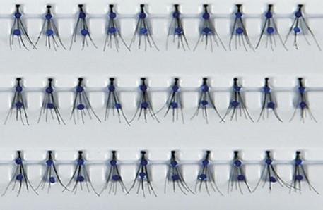 Grimas Fashion Wimperstukjes 308 Blauwe Glitter