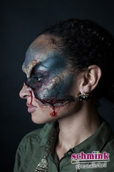 Fotoalbum - Cursus Zombie Extreme Make-up-865