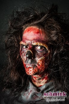 Fotoalbum - Cursus Zombie Extreme Make-up-870