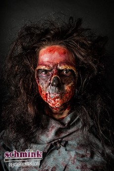 Fotoalbum - Cursus Zombie Extreme Make-up-871