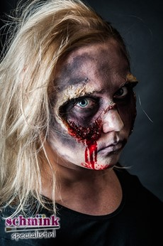 Fotoalbum - Cursus Zombie Extreme Make-up-873
