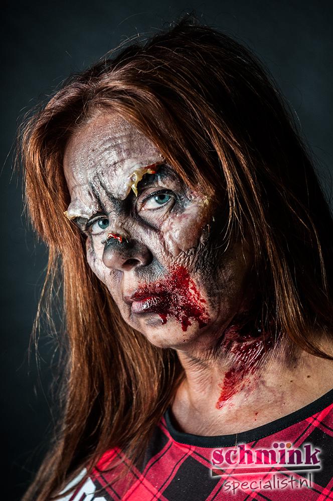 Halloween Zombie Schmink.Fotoalbum Cursus Zombie Extreme Make Up