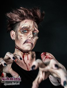 Fotoalbum - Cursus Zombie Extreme Make-up-855