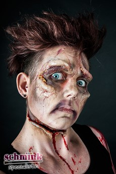 Fotoalbum - Cursus Zombie Extreme Make-up-856