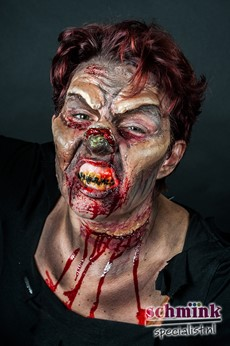 Fotoalbum - Cursus Zombie Extreme Make-up-859