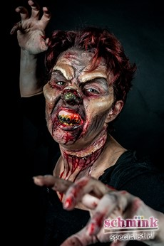 Fotoalbum - Cursus Zombie Extreme Make-up-860
