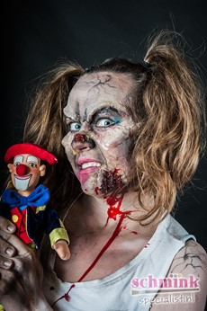 Fotoalbum - Cursus Zombie Extreme Make-up-861