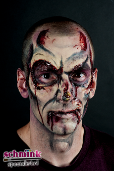 Fotoalbum - Cursus Zombie Extreme Make-up-874