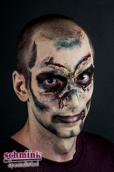 Fotoalbum - Cursus Zombie Extreme Make-up-875