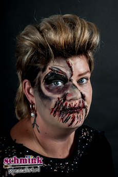 Fotoalbum - Cursus Zombie Extreme Make-up-876
