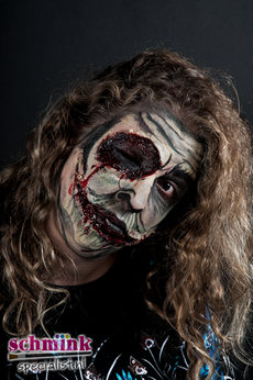 Fotoalbum - Cursus Zombie Extreme Make-up-877