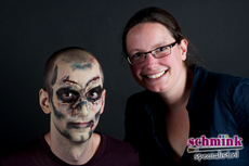 Fotoalbum - Cursus Zombie Extreme Make-up-878