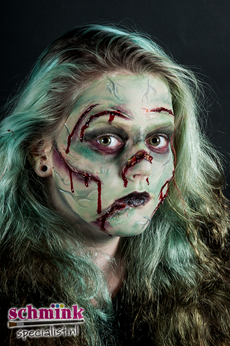 Fotoalbum - Cursus Zombie Extreme Make-up-879