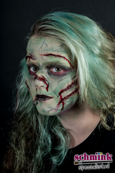Fotoalbum - Cursus Zombie Extreme Make-up-880