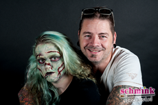 Fotoalbum - Cursus Zombie Extreme Make-up-881