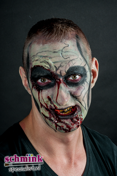 Fotoalbum - Cursus Zombie Extreme Make-up-882