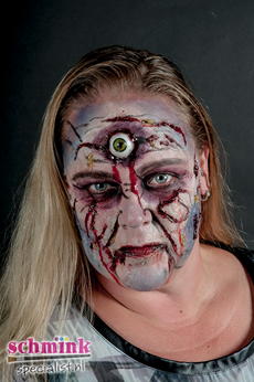 Fotoalbum - Cursus Zombie Extreme Make-up-884